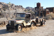 English: Desert Queen Ranch - Willys-Overland CJ-2A