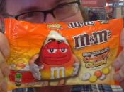 Fall M&M's White Chocolate Candy Corn Candies at Target with Mike Mozart