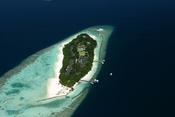 A Maldivian tourist resort