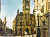 Wool exchange Bradford in West Yorkshire