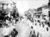 4th February, 1952 rally at Nowab Pure Road, Dhaka, East Pakistan