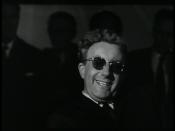 English: Peter Sellers as Dr. Strangelove from Stanley Kubrick's 1964 film, Dr. Strangelove.