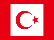 Standard of the President of Turkey, as Commander-in-Cheif of the Turkish Armed Forces Baed off:http://flagspot.net/flags/tr-pres.html