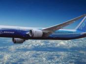 English: Artist impression of Boeing 787-9 Dreamliner. Français : Boeing 787-9 Dreamliner.