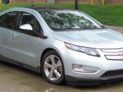 2011 Chevrolet Volt photographed in College Park, Maryland, USA. Category:Chevrolet Volt Category:Silver hatchbacks