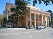 Petros Adamian Tbilisi State Armenian Drama Theatre. Avlabar, Tbilisi, Georgia.