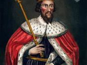 Portrait of Alfred the Great.