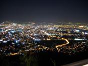 Sofia at night