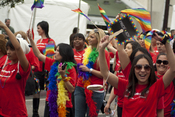 English: Bank of America at LA Pride 2011 (June 12)