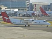 Qantas Link DHC-8-300 Dash 8; VH-TQM@SYD;06.07.2012/661cz