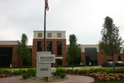 Hyland Software's corporate office after a major building expansion
