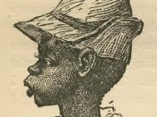 Black boy from Uncle Remus, His Songs and His Sayings: The Folk-Lore of the Old Plantation, by Joel Chandler Harris, p. 218. Illustrations by Frederick S. Church and James H. Moser. New York: D. Appleton and Company, 1881.