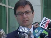 Greg Combet speaking in November 2005, shortly after the Government introduced its WorkChoices legislation