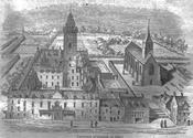 English: Glasgow University in 1654