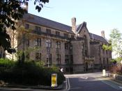 The Glasgow University Union, the principal venue for debating at the University of Glasgow.