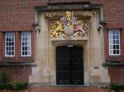 King Edward's School, Birmingham - Royal coat of arms