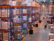 English: J Sainsbury's regional distribution centre at Waltham Point