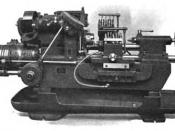 English: Fay automatic lathe, manufactured by Jones & Lamson Machine Co. from ASME (1921), A.S.M.E. mechanical catalog and directory, Volume 11, American Society of Mechanical Engineers