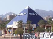 English: IMAX 3D cinema in Eilat, Israel Svenska: IMAX 3D-biografen i Eilat, Israel