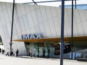 IMAX at the Melbourne Museum in Melbourne, Australia. The 3rd Largest Screen In the World.
