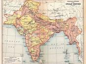 English: Map of the British Indian Empire from Imperial Gazetteer of India