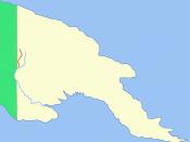 Location of the Ok Tedi