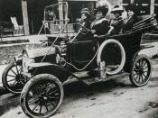 Madam C.J. Walker in an early automobile