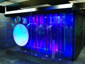 English: IBM's Watson computer, Yorktown Heights, NY