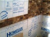 2nd Bedroom Ensuite Tiling