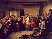 Examination of a Witch by T. H. Matteson, inspired by the Salem witch trials