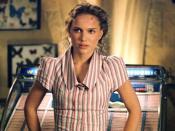 Portman as Evey.