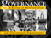 Global Governance: A Review of Multilateralism and International Organizations