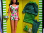 Mattel limited edition reproduction of 1966 Francie doll and