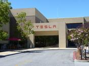 English: Headquarters of Tesla Motors Inc., located in Palo Alto, CA, USA