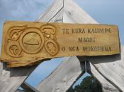 Full Immersion School in Seatoun. All classes are held in the Maori language.