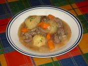 English: A Plate of Irish Stew