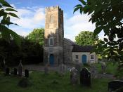 St Colman's Church, Farahy, County Cork, Bowen's burial place