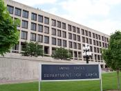 English: The Frances Perkins Building of the U.S. Department of Labor headquarters in Washington, D.C.