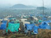Refugee camp for Rwandans located in what is now eastern Democratic Republic of the Congo following the Rwandan Genocide.