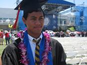 The Filipino Andy Bernard finally graduates from the Filipino version of Cornell
