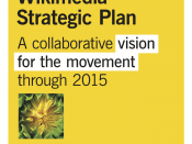 Wikimedia Strategic Plan cover image