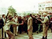 English: The Iranian Revolution (Also known as the Islamic Revolution or 1979 Islamic Revolution فارسی: انقلاب سال ۱۳۵۷ هجری خورشیدی در ایران ، (مشهور به انقلاب اسلامی)
