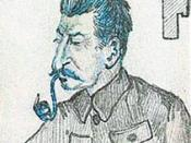 Joseph Stalin, cartoon