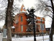Gariepy House 1902  !! Winter View !!