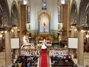 A wedding in the Manila Cathedral
