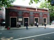 The Museum of the First National Congress of the Chinese Communist Party in Shanghai, China.