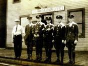 Immigration inspectors, circa 1924