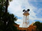 English: Front Lot, Walt Disney Studios, Disneyland Paris, France