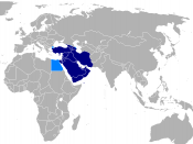Western Asia in most contexts. Possible extensions.
