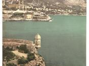 [Monte Carlo, from Fort Antoine, Monaco (Riviera)] (LOC)
